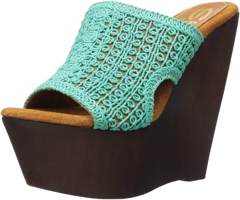 Sbicca Womens Tahiti Wedge Sandal
