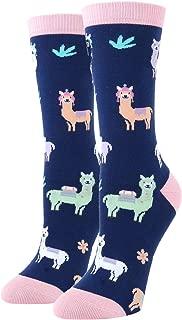 Women's Girls Novelty Funny Socks Crazy Unicorn Poop Dog Llama Alien Bees Design