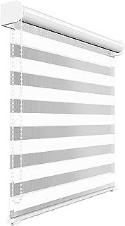 Victoria M. - Estor Doble Enrollable (para Ventanas y Puertas) 120 x 175 cm, Blanco