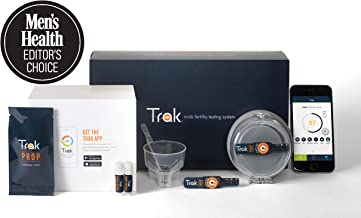 Trak at-Home Sperm Test: 2-Test Kit | Track Sperm Count and Semen Volume Over Time with 2 Tests | Immediate Lab Accurate Results | FSA/HSA Eligible | Editor's Choice