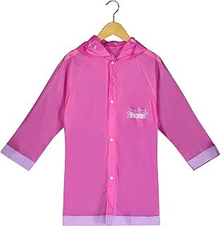 Disney Frozen Little Girls' Waterproof Outwear Hooded Rain Slicker - Toddler