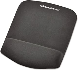 Fellowes Wrist Rest with Mouse Pad, Grey - 9252201