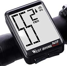 LIXADA - Velocímetro inalámbrico para Bicicleta, Gran