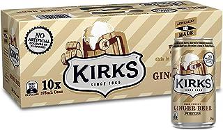 Kirks Old Stoney Ginger Beer 375ml x 10