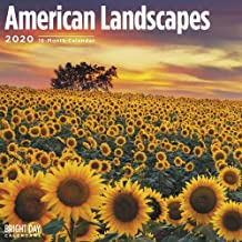 2020 American Landscapes Calendar 16 Month 12 x 12 Wall Calendar by Bright Day Calendars (American Pride Wall Calendar)