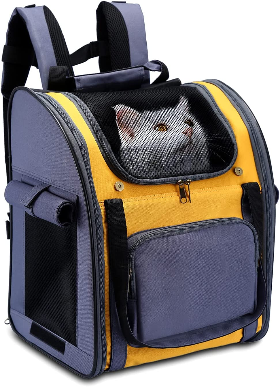 Pettom Dog Carrier Backpack Cat Travel Bag Backpa Puppy Foldable Bombing free shipping Louisville-Jefferson County Mall