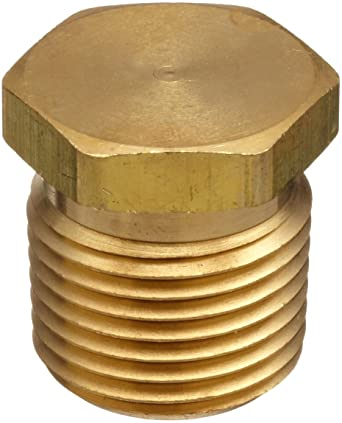 Box Of 20 Parker 4 PH-SS 1//4in Npt Stainless Pipe Plug Fitting