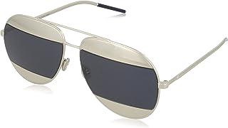 نظارة ديور سبلت 1 الشمسية للنساء من ديور، رمادي - KU 010 59