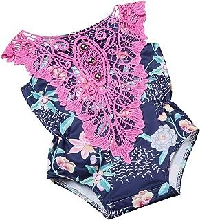 Piwapee/-/Costumino con pannolino inseribile 3-6M colore: rosa rosa Rose poudr/é 4-8 KG adatto allacqua e senza fuoriuscite motivo: fenicottero