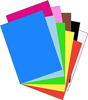 Riverside 3D Construction Paper, 10 Assorted Colors, 18