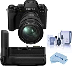 $2328 » Fujifilm X-T4 Mirrorless Digital Camera with XF 16-80mm f/4 R OIS WR Lens, Black Vertical Battery Grip for X-T4, Cleaning ...