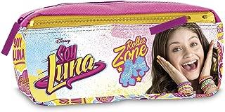 Soy Luna - Two Zip Pencil Case (Giochi Preziosi YL921000)