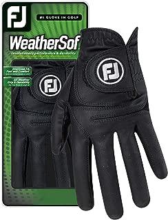 FootJoy Men's WeatherSof Golf Glove (Black)