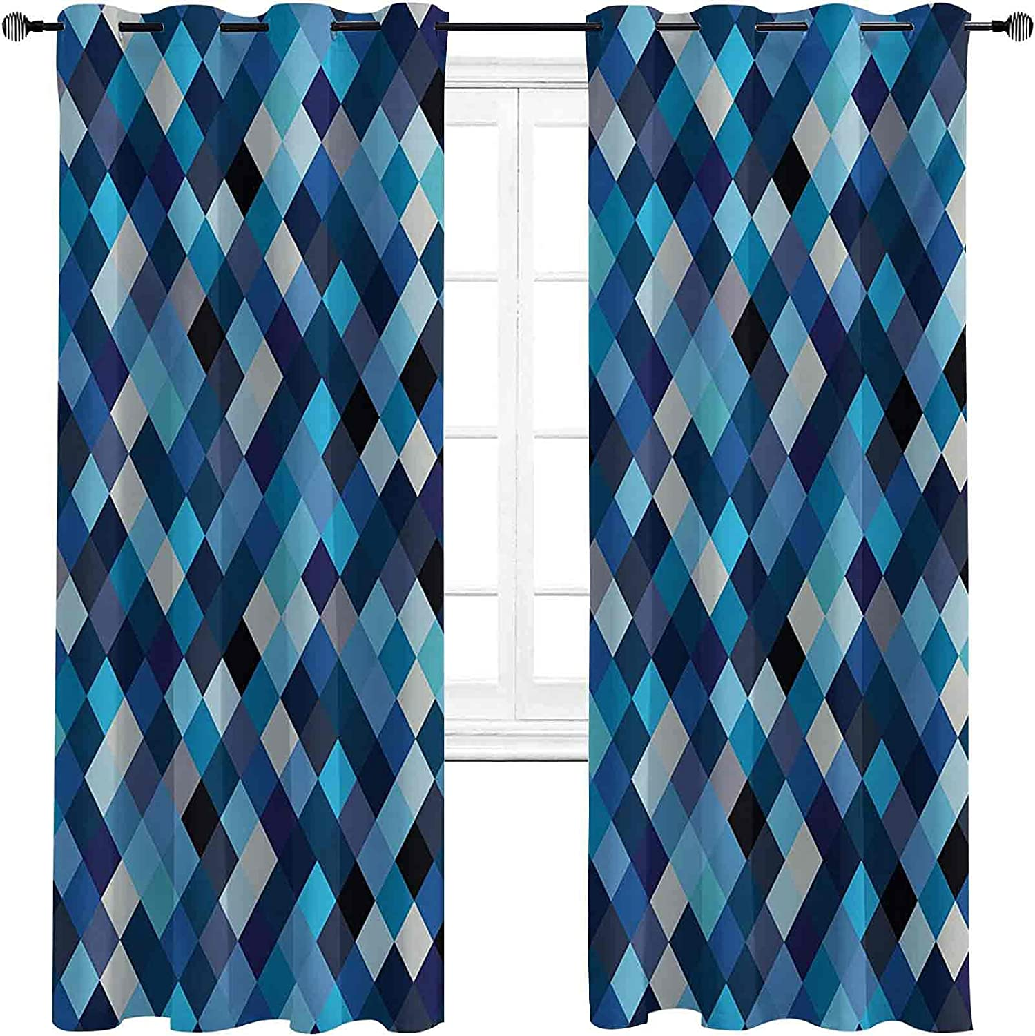 Modern Blackout Curtains - Outlet SALE Gasket Insulation shipfree Fashion Triangles