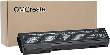 OMCreate Battery Compatible with HP EliteBook 8460P 8470P 8560P 8570P; HP ProBook 6470B 6570B 6460B 6560B 6360B,fits P/N CC06 QK642AA 628666-001 - 12 Months Warranty