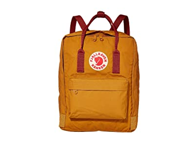 Fjallraven Kanken (Acorn/Ox Red) Backpack Bags