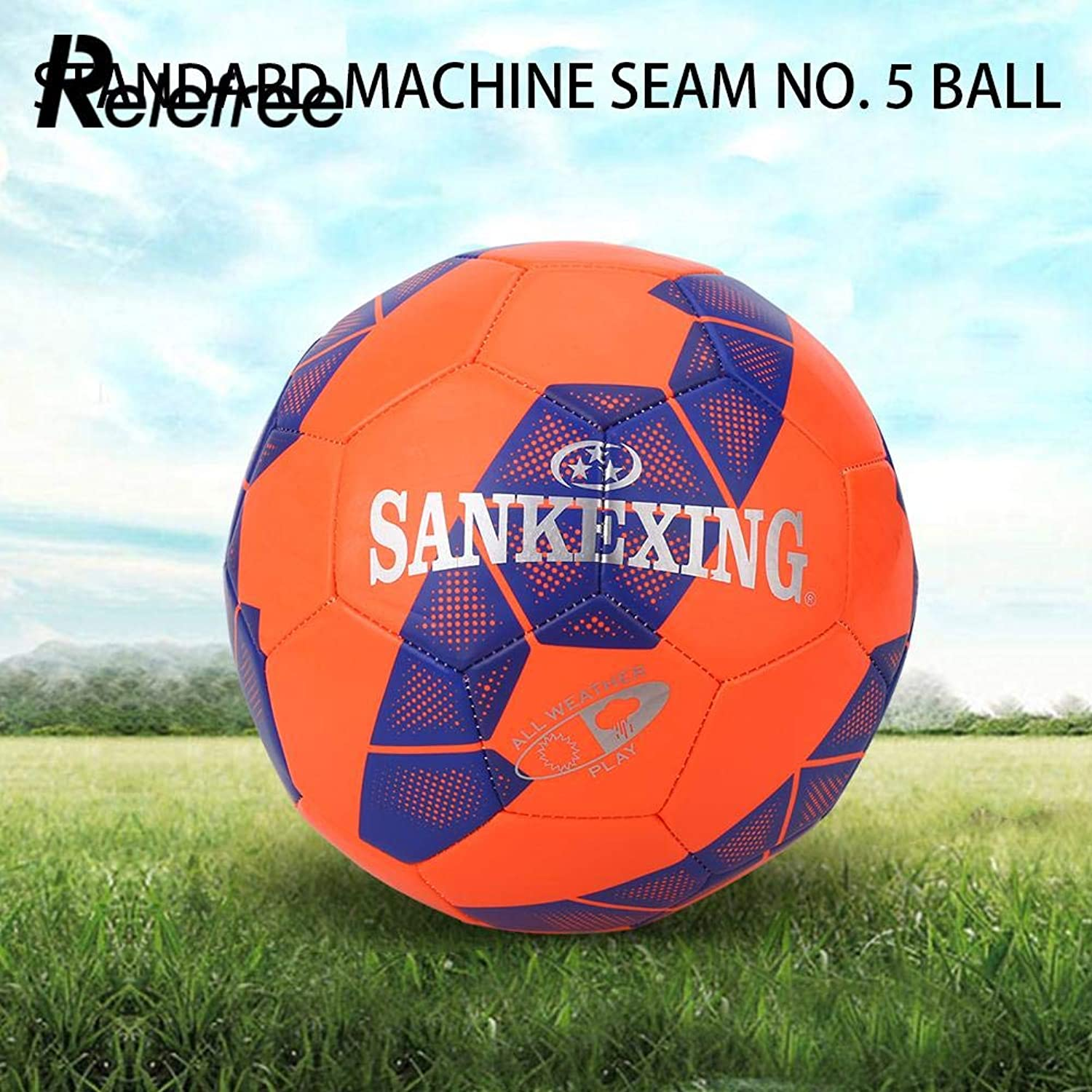 Size 5 Soccer Exercise Football Pro Training Ball Sporting Goods Toys