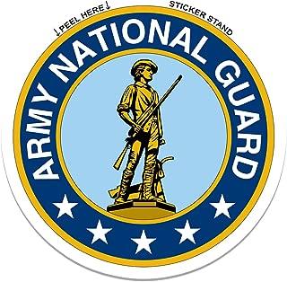 Army National Guard car bumper sticker 4
