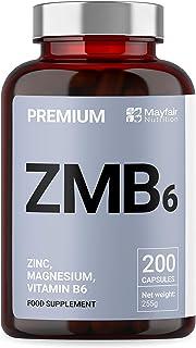 Zinc. Magnesio. Vitamina B6 | Máxima Potencia + Fácil
