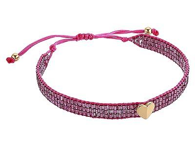 Kate Spade New York Heritage Spade Friendship Bracelet (Violet) Bracelet
