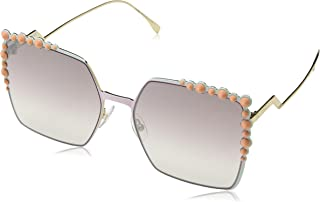 f6b93b54ee20 Fendi Sunglasses 0259 s 035J Pink With brown mirror gradient lens