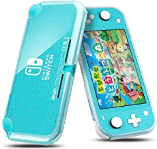 Zeakinx Nintendo Switch Lite ケースニンテンドースイッチライト対応 保護ケース シリコン カバー 超薄型軽量 上質TPU素材 衝撃吸収 傷つけ防止 防水防塵 汚れ防止 (キラキラ透明い色)