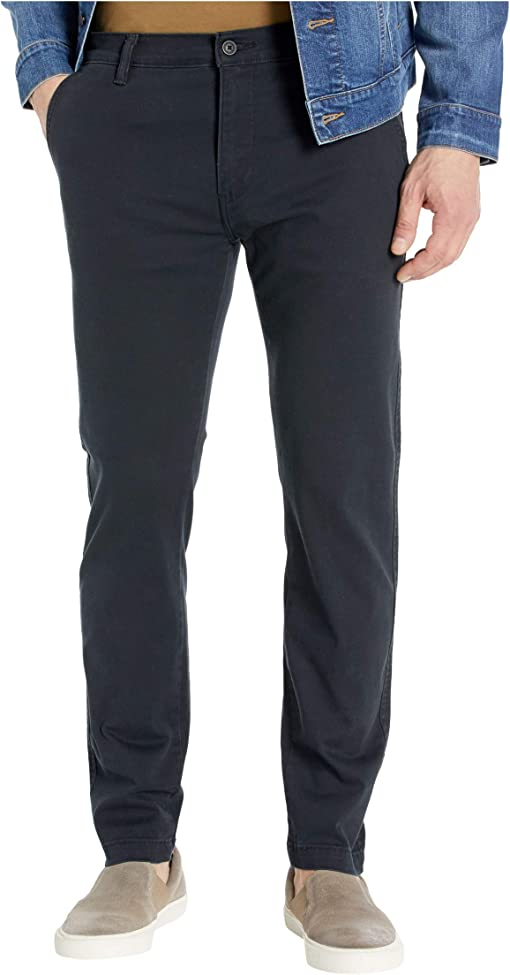 Mineral Black Stretch Twill