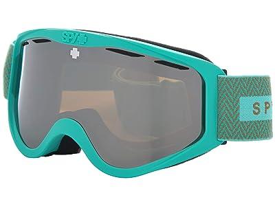 Spy Optic Cadet (Herringbone Mint Bronze w/ Silver Spectra) Goggles