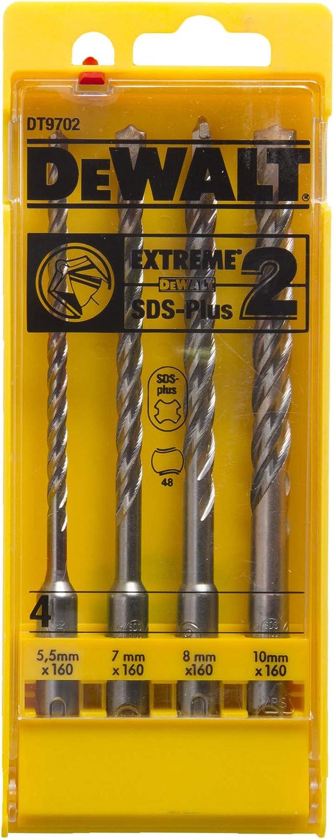 9mm x 160mm DT9536-QZ Dewalt Extreme SDS PlusDrillBit