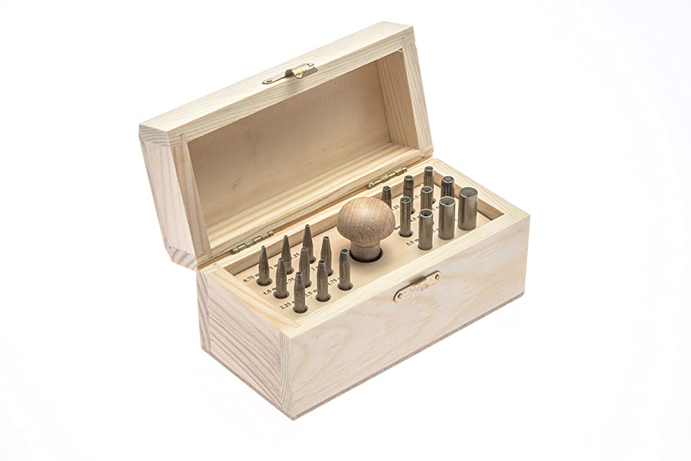 SE JT-BS18 19-Piece Bezel/Prong Closing Punch Set s905287234