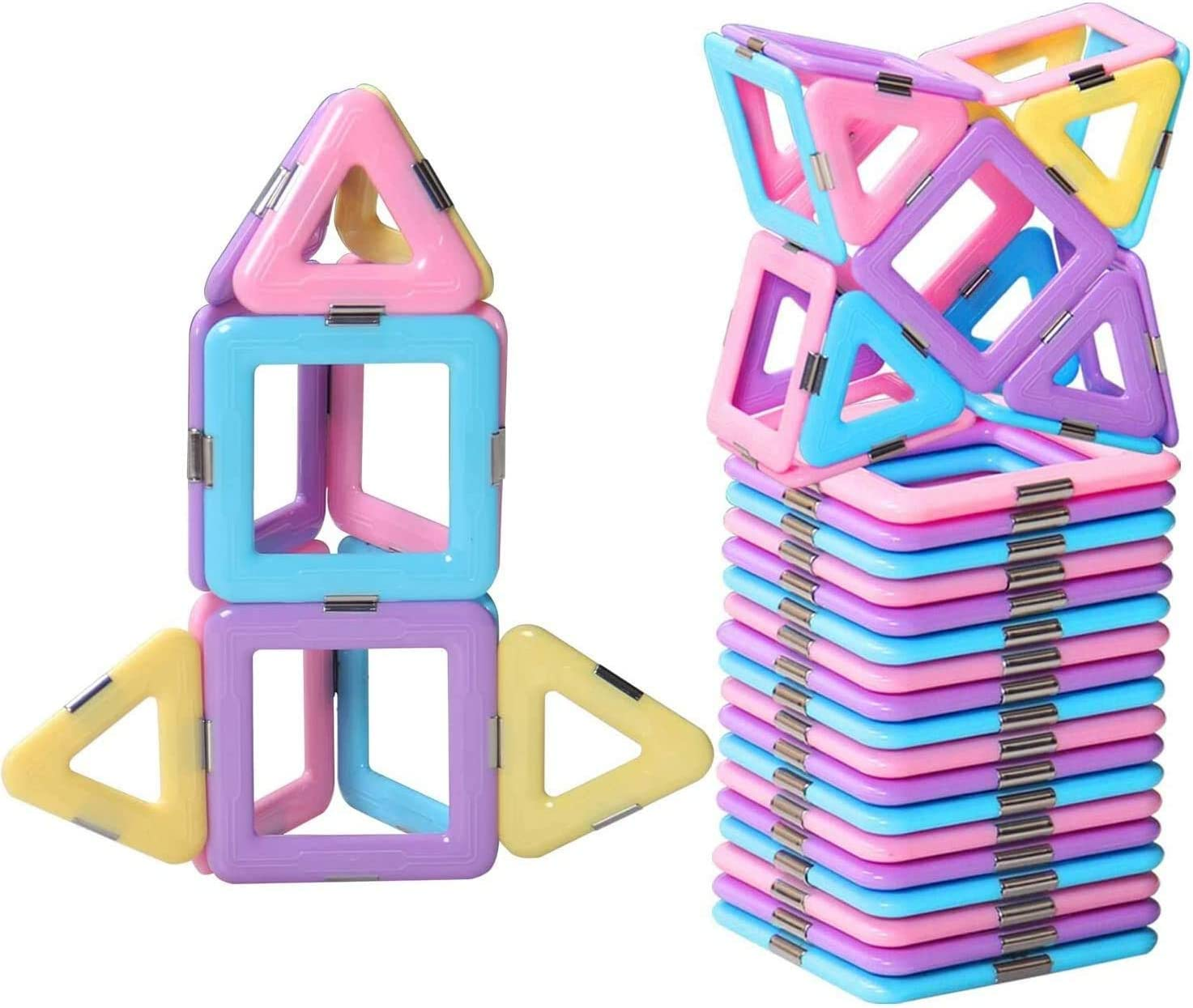 DEJUN Magnetic Dealing full price reduction Building Blocks Magnet Educational Long-awaited fo Tiles Toys