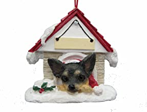 Chihuahua Black and Tan Ornament A Great Gift For Chihuahua Owners Hand Painted and Easily Personalized