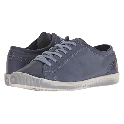 FLY LONDON ISLA154SOF (Navy Washed Leather) Women