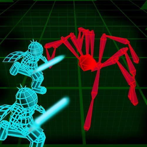 Stickman Neon Warriors: Spinnen