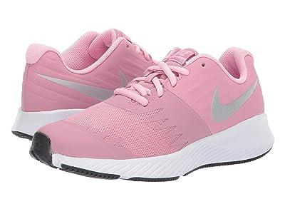 Nike Kids Star Runner (Big Kid) (Elemental Pink/Metallic Silver/Pink) Girls Shoes