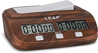 LEAP Horloge d'échecs Pendule d'Échecs Chess Clock chronomètre Professionnel d'échecs, Affichage de Précision Numérique de...