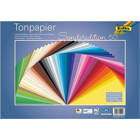 Arc FOLIA TONPAPIER 50 x 70 cm 130 g//m² 10 rose
