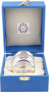 MSA JEWELS 925 Silver Lota/Kalash with Bis Hallmark Approved (7.5 X 6.5 cm, 49 GM)