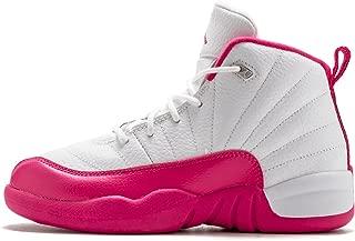 Jordan Kids 12 Retro GP White/Metallic Silver//Vivid Pink 510816-109