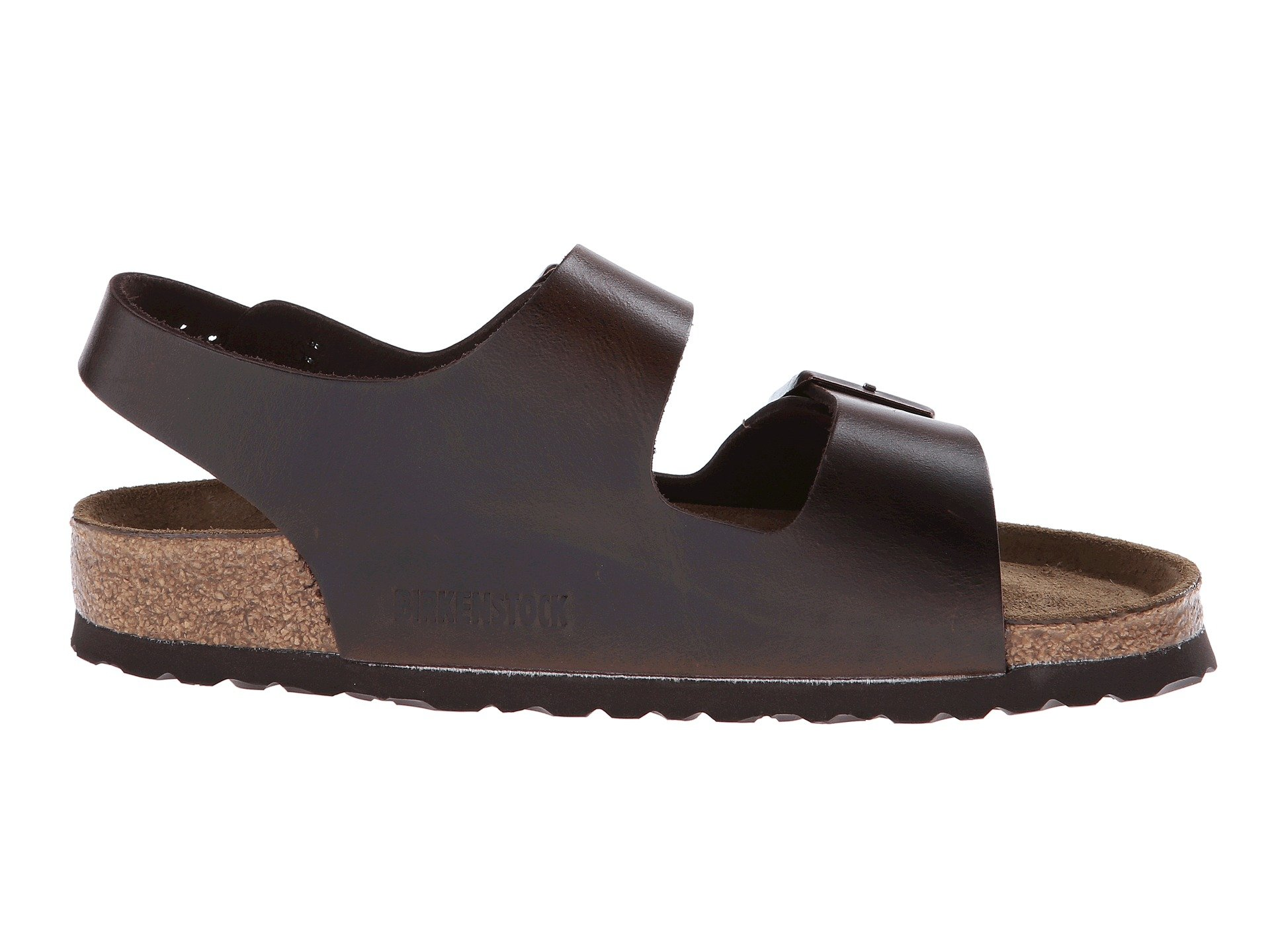 Birkenstock Milano Leather Soft Footbed Unisex At