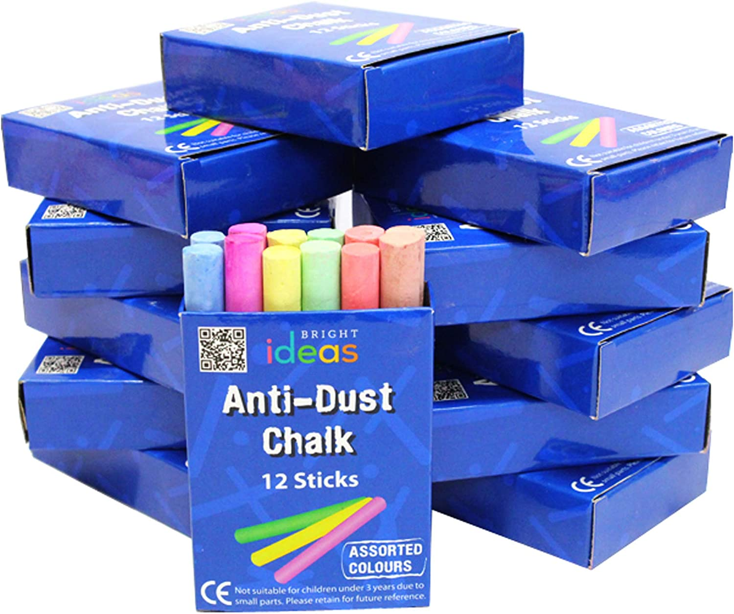 Bright Ideas Milwaukee Mall Chalk Assorted 8cm Our shop OFFers the best service