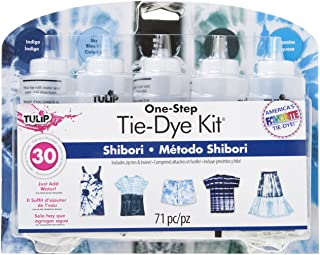 Tulip 38664 One-Step Tie Kit Fabric Dye, Shibori