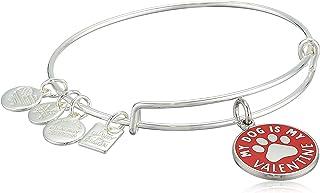 Alex and Ani My Dog is My Valentine Bangle Bracelet