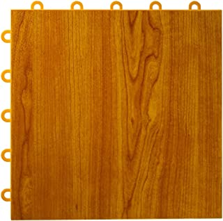 Greatmats Max Tile Laminate Floor Tile 26 Pack (Walnut)