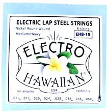 Asher Electro Hawaiian Lap Steel Strings Single Set for 8-String