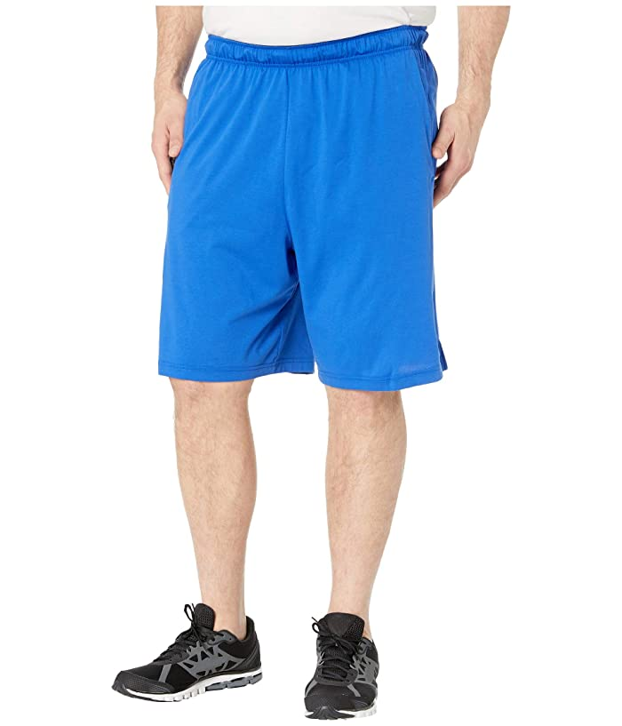 Nike Big Tall Training Shorts (Game Royal/Black) Men