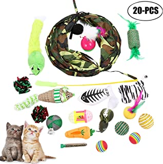 CHRISTMAS PET CAT TOYS ASSORTED TYPES