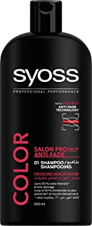 Syoss Colored Highlighted Hair Shampoo For Women - 500 ml