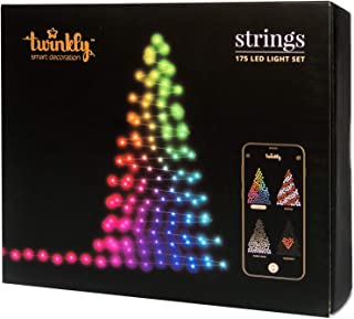 Twinkly 175 LED String Lights | Customizable WiFi-Enabled LED Lights