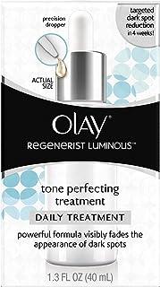 Face Moisturizer by Olay Regenerist Luminous Tone Perfecting Treatment, 1.3 Fl Oz